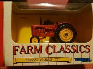 "Vintage ERTL - Farm Classics - Massey Harris ""55""  #1131 Die-Cast Metal 1:43"