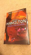 PETER F HAMILTON - JUDAS UNCHANGED - SIGNED LIMITED NUMBERED FIRST EDITION