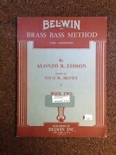 Belwin Brass Bass Method Book 2, By Alonzo B. Eidson (Paperback)