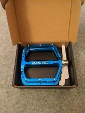 Burgtec Mk5 pedals Blue New