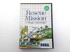 SEGA Master System Rescue Mission PAL Light Phaser Game