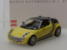 Busch Smart Roadster Coupe, gelb - 49350 - 1:87