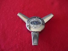 CRAGAR CLASSIC WHEELS S/S spinner Wheel Center Cap Chrome Finish E2046 NEW