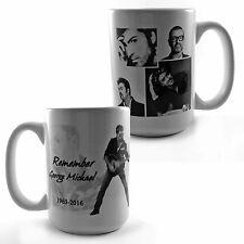 Ricordate George Michael 1963-2016 OMAGGIO grandi 15oz TAZZA REGALO MUSICA FAN