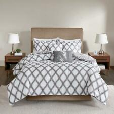 510 Design Rozelle Reversible 5 Piece Queen Duvet Cover Set Grey $122