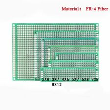 Prototyping PCB Universal Board Double Side Tinned FR-4 Glass Fiber Thick 1.6mm