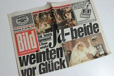 BILDzeitung 30.07.1981 Juli 30.7.1981 Geschenk 39. 40. 41. 42. Geburtstag