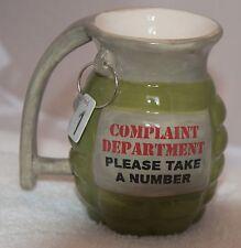 Green mug 12 oz. joke/funny