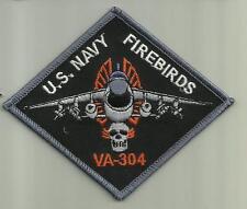 VA-304 FIREBIRDS U.S.NAVY PATCH WAR COMBAT FIGHTER JET PILOT AIRCRAFT AVIATOR