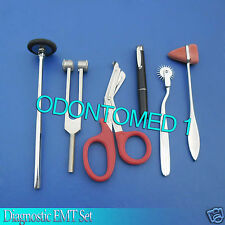 6 Pcs Set Diagnostic EMT Nursing Surigcal EMS Supplies DS-769