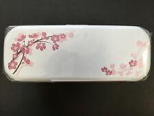 HAKOYA Lunch Bento Box 52957 Spring Sakura Cherry Blossoms WHITE MADE IN JAPAN