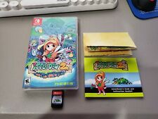 Nintendo Switch Ittle Dew 2+ Launch Edition Includes Manual & Map FREE SHIPPING!