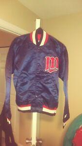 Vintage Minnesota Twins Throwback Satin Starter Jacket Large New! Mlb