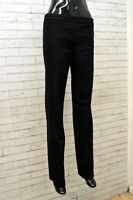 Pantalone Nero Classico in Lana Donna MAURO GRIFONI Taglia 42 Women's Pants