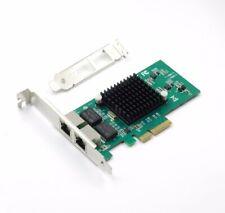Intel 82576 Gigabit 1000Mbps Dual Port PCI-E Server Adapter Network Card E1G42ET