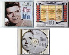 CLIFF RICHARD 40 Years Of Hits In Holland .. Rare 1998 Holland EMI CD TOP