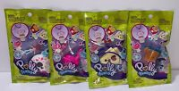 Polly Pocket Tiny Takeaway Bags LOT OF 4 Jewelry Accessories Mini Bags BRAND NEW