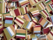 Broken China Mosaic Tiles - Laura Ashley Stripes mosaic tiles