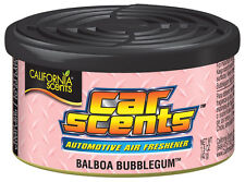 California Scents Car Home Organic Air Freshener Freshner Tin - BALBOA BUBBLEGUM