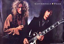 Led Zeppelin Jimmy Page & David Coverdale 1993 Original Promo Poster
