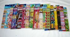 180 pcs Pencil with Disney & Cartoon Character Licensed Wholesale School Supply