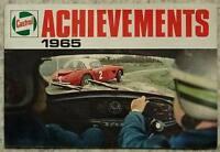 CASTROL MOTOR SPORT Successes Achievements Records 1965 MONTE CARLO RALLY Mini