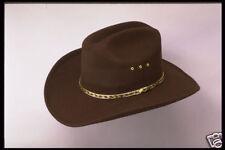NEW! Brown Faux Felt Cowboy Hat - Adult or Kids