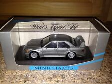 Minichamps Mercedes 190 E Evo 2 Street Pearl Grey Metallic 1:43 Ultra Rare Find*