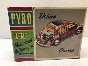 VINTAGE ORIGINAL1960'S  PYRO MOTORIZED VOLKSWAGEN 1200 SEDAN JUNKYARD PARTS  KIT