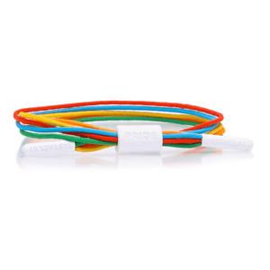 Rastaclat Equality Gay Pride LGBTQ Shoelace Wristband Bracelet M/L 31400045