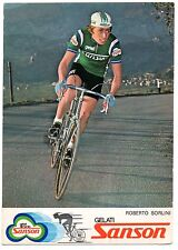 ROBERTO SORLINI SQUADRA SANSON CICLISMO CYCLISME CYCLING BICICLETTA