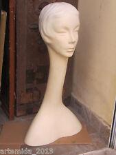 Vintage MANNEQUIN Woman's Head 1960s