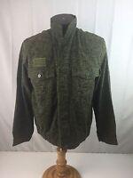 Czech Republic Army Jacket Vz92 Worm Pattern Green Camo Military Jacket