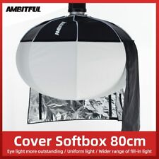 "AMBITFUL 80cm 31.5"" Lantern Foldable Quick-install Portable Round Shape Softbox"
