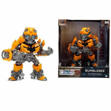 "Jada Toys 4"" Metals Transformers Diecast Action Figure 99387 Bumblebee M408"