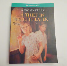 """American Girl KIT MYSTERY paperback """"A THIEF IN THE THEATRE""""  - NEW - free ship"""