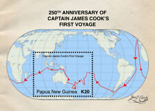Papua New Guinea  2018 ship CAPTAIN COOK 250TH ANNIVERSARY  I201803