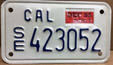 1995 Special Equipment Dmv Clear California License Plate (Se-423052)