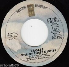 THE EAGLES One Of These Nights / Visions 45