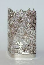 NEW BATH & BODY WORKS GLITTERY SNOWFLAKES GENTLE FOAMING HAND SOAP SLEEVE HOLDER