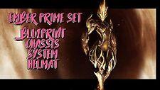 Warframe Ember Prime Set for (PS4) ☆Same Day Trade☆