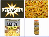Dynamite Baits Frenzied Maize Range Chosse From Jars or Cans For Carp Fishing