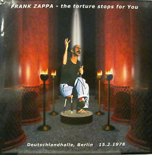 """FRANK ZAPPA """"THE TORTURE STOPS FOR YOU"""" 3 lp limit.edit. red vinyl unplayed"""