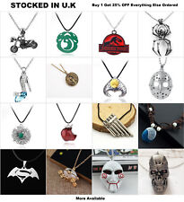 Movie Jewellery Alien Maze Runner Labyrinth Film Cosplay Pendant Necklace Ring