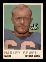 1959 Topps Football Set Break # 73 Harley Sewell VG-EX to EX *OBGcards*