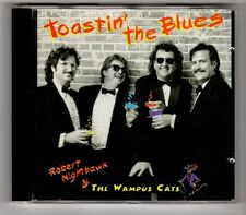 (GY576) Robert Nighthawk & The Wampus Cats, Toastin' The Blues - 1995 CD
