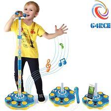 Bambini Bambine Bambini Microfono Microfono Karaoke Canto Musica Bambini Giocattolo Natale Regali UK