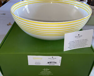 Lenox Kate Spade With A Twist Serving Bowl New!