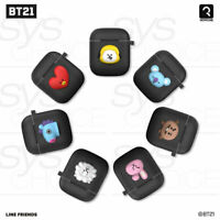 BTS BT21 Official Silicone Charging Airpods Case Black Edition_with tracking num