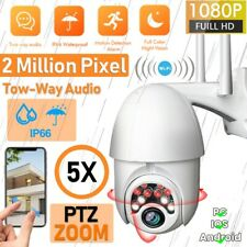 Hd 1080P Wifi Ip Network Ptz Camera Wireless Outdoor Security Surveillance Dome